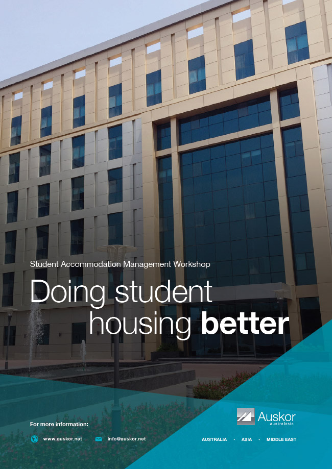 Doing Student Housing Better brochure