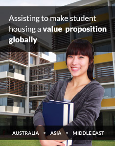 Assisting to make student housing a value propositio globally